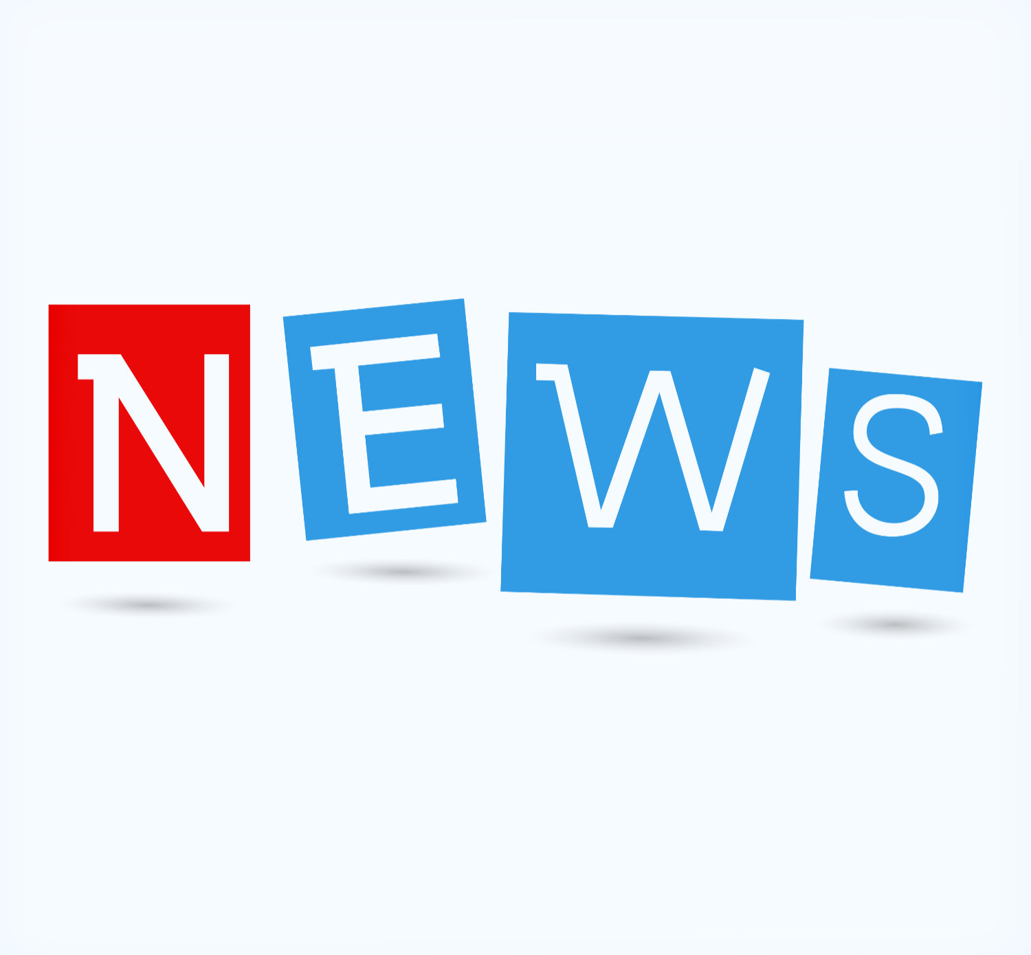 Education News - Newspaper with white background template
